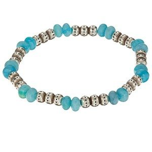 Turquoise Stretch Bracelet by Brighton